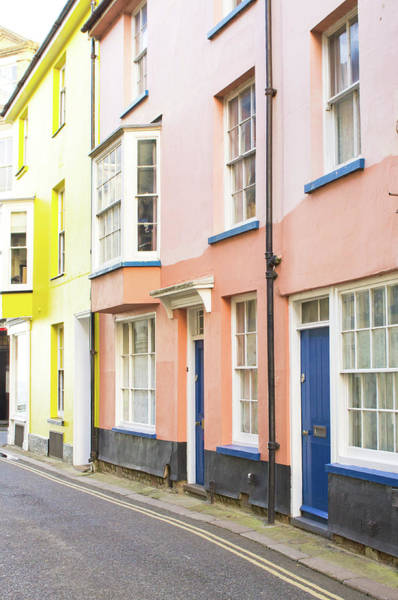 Yellow Brick Road Wall Art - Photograph - Colorful Houses by Tom Gowanlock