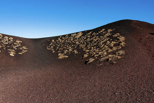 Photograph - Etna, Red Mount Crater by Bruno Spagnolo