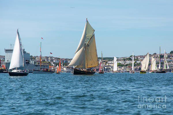 Photograph - Falmouth Classic 2018 by Brian Roscorla