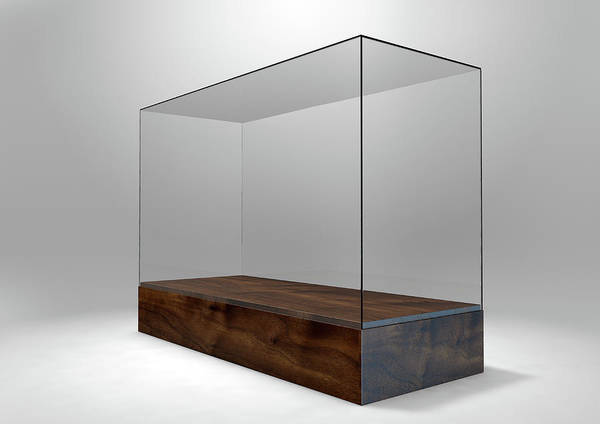 Show Business Wall Art - Digital Art - Glass Display Case by Allan Swart