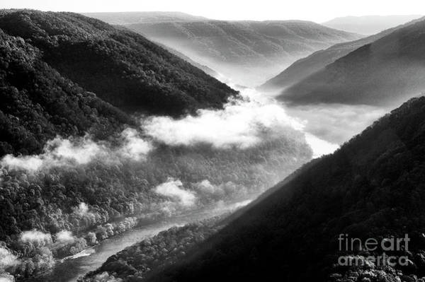 Photograph - Grandview New River Gorge by Thomas R Fletcher