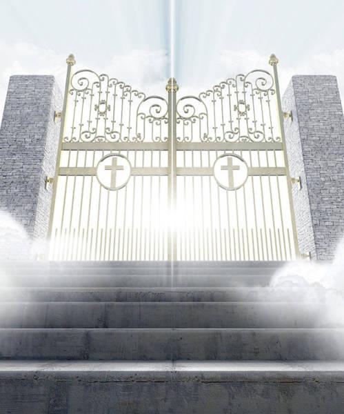 Wall Art - Digital Art - Heavens Gates by Allan Swart