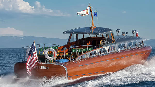 Photograph - Iconic Thunderbird Yacht by Steven Lapkin