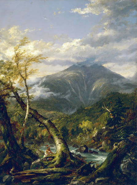 Adirondack Mountains Painting - Indian Pass by Mountain Dreams