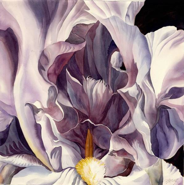 Painting - Into The Iris by Alfred Ng