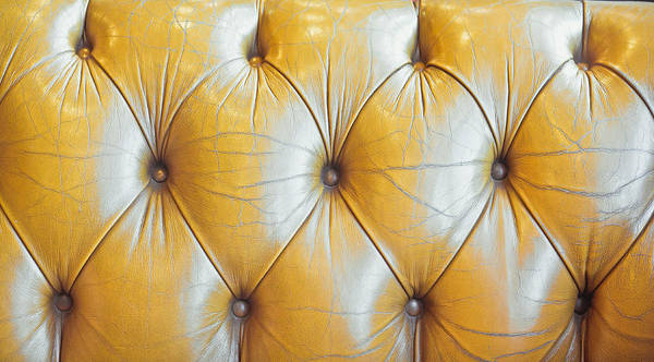 Wall Art - Photograph - Leather Upholstery by Tom Gowanlock