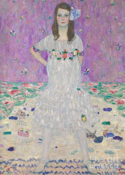 Girly Painting - Mada Primavesi by Gustav Klimt