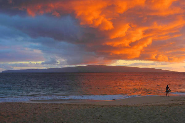 Wall Art - Photograph - Maui Sunset by Stephen  Vecchiotti