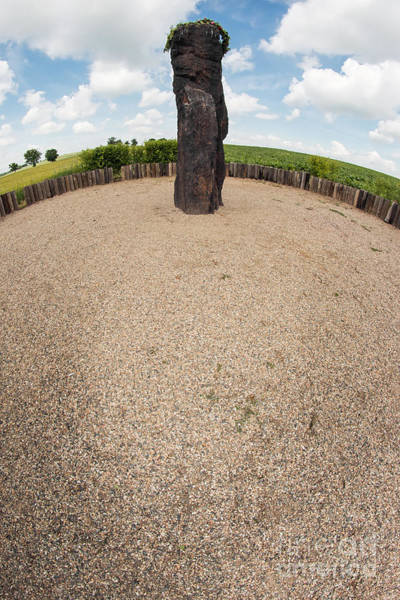 Wall Art - Photograph - Menhir Stone Shepherd by Michal Boubin