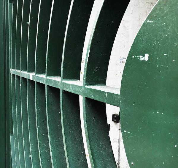 Wall Art - Photograph - Metal Gate by Tom Gowanlock