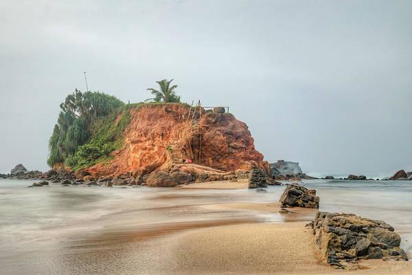 Southern Rock Photograph - Mirissa - Sri Lanka by Joana Kruse