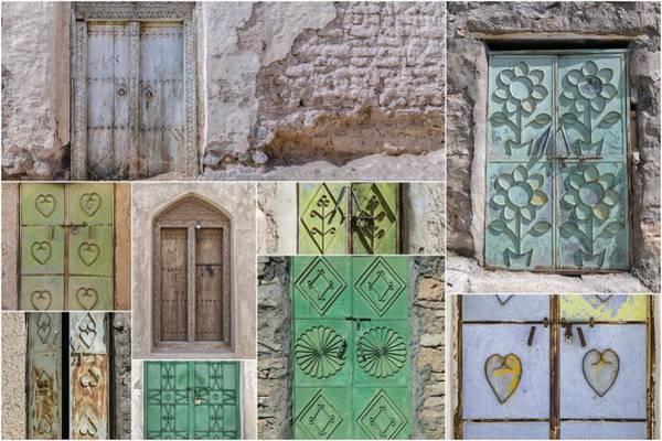 Wall Art - Photograph - Doors Of Oman by Joana Kruse