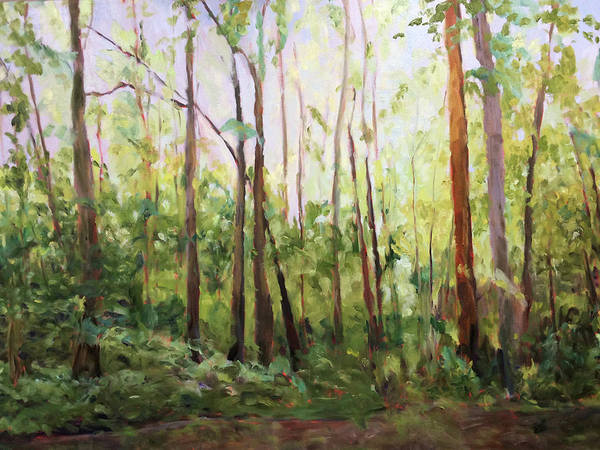 Painting - Edge Of The Woods by Bart Levy