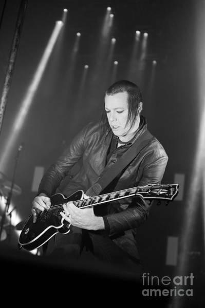 Photograph - Nine Inch Nails by Jenny Potter