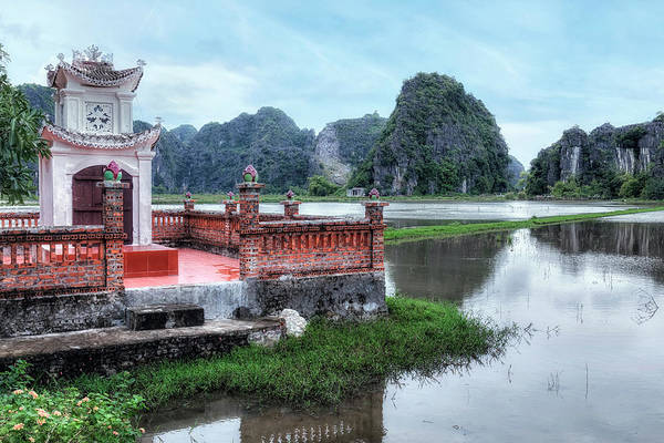 Hang Wall Art - Photograph - Ninh Binh - Vietnam by Joana Kruse