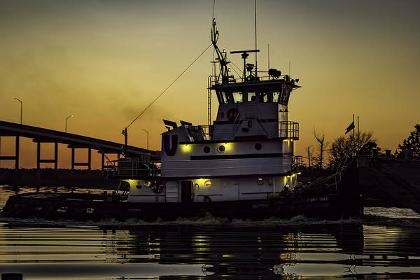 Photograph - Tugboat Fort Pike by Pete Federico