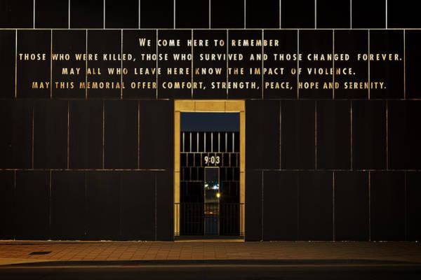 Okc Photograph - Oklahoma City National Memorial Viii by Ricky Barnard