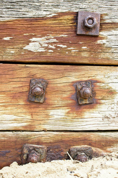 Old Wall Art - Photograph - Old Wood by Tom Gowanlock
