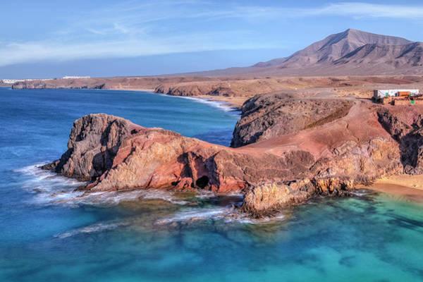 Wall Art - Photograph - Playa Papagayo - Lanzarote by Joana Kruse