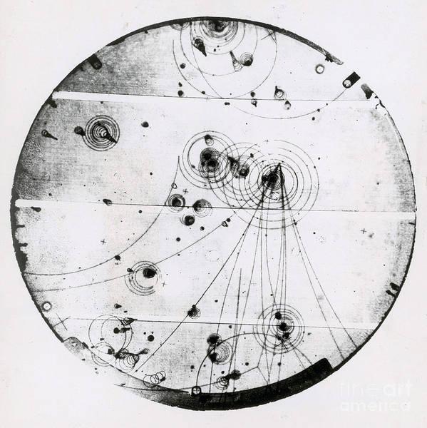 Subatomic Particle Photograph - Proton-photon Collision by Omikron