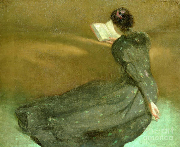 Serious Painting - Repose by John White Alexander