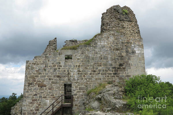 Wall Art - Photograph - Ruins Of Primda Castle by Michal Boubin