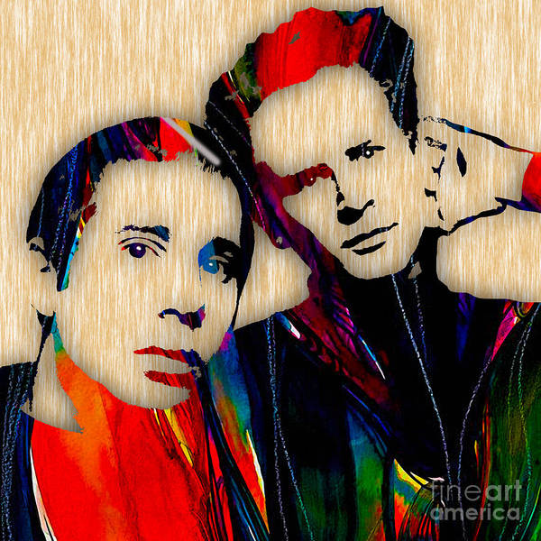 Simon And Garfunkel Mixed Media - Simon And Garfunkel Collection by Marvin Blaine