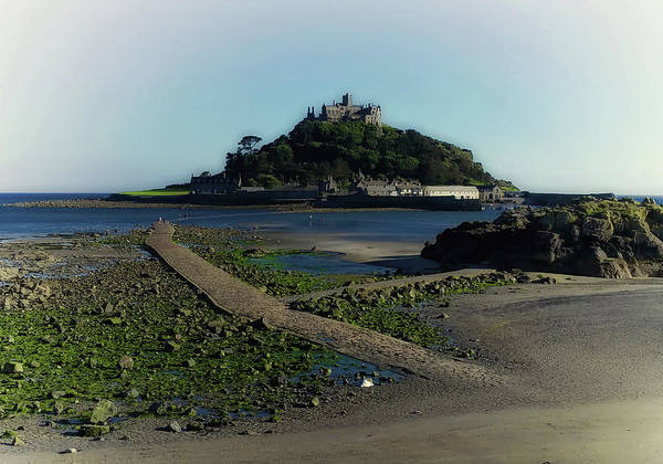 St Michaels Church Photograph - St Michaels Mount by Martin Newman