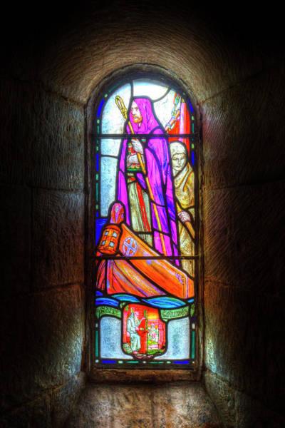 Church Of Scotland Wall Art - Photograph - Stained Glass Window by David Pyatt