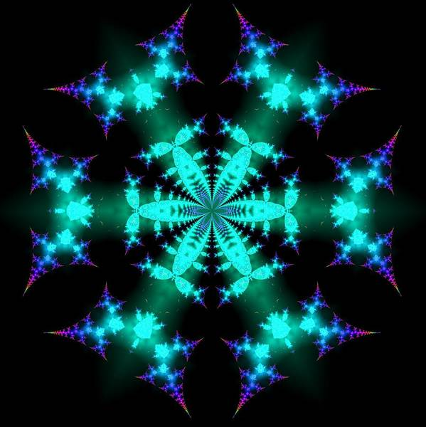 Digital Art - 6 Star 2 by Robert Thalmeier