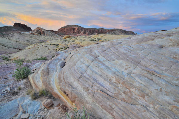 Photograph - Sunset In Valley Of Fire by Ray Mathis