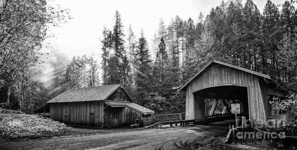 Wall Art - Photograph - The Cedar Creek Grist Mill In Washington State. by Jamie Pham