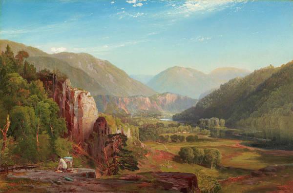Wall Art - Painting - The Juniata, Evening by Thomas Moran