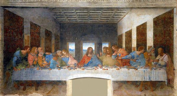 Redeemer Wall Art - Painting - The Last Supper by Leonardo da Vinci