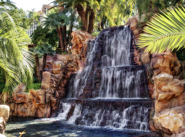 Famous Waterfall Wall Art - Photograph - The Mirage Vii by Ricky Barnard