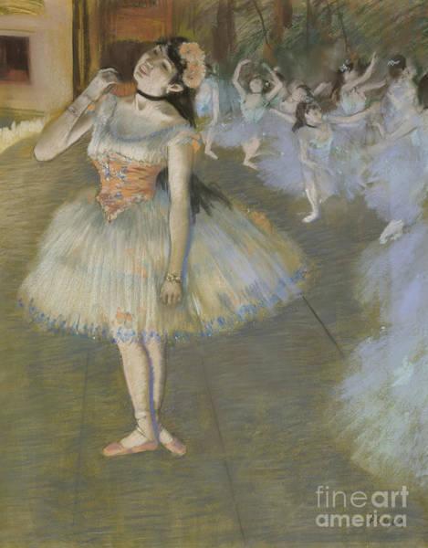 Wall Art - Pastel - The Star by Edgar Degas