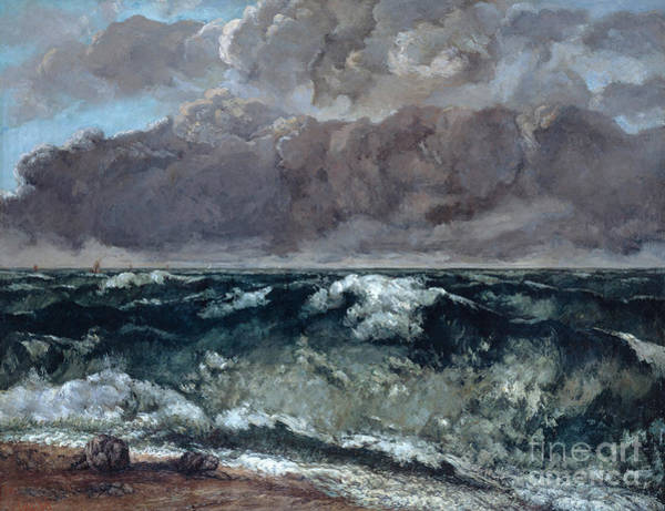 Painting - The Wave by Celestial Images