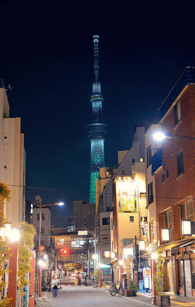 Photograph - Tokyo Street by Songquan Deng