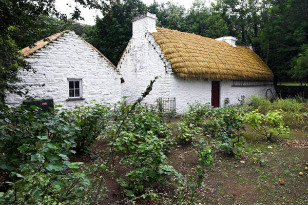 Photograph - Traditional Thatch Roof Cottage Ireland by Pierre Leclerc Photography