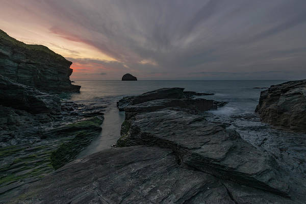 Cornwall Photograph - Trebarwith Strand - Cornwall by Joana Kruse