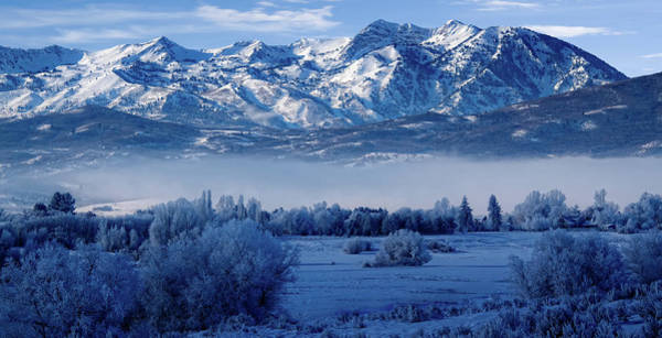 Wall Art - Photograph - Winter In The Wasatch Mountains Of Northern Utah by Douglas Pulsipher