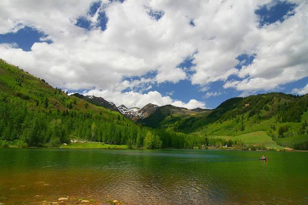 Photograph - Mountain Lake by Mark Smith