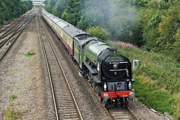 Photograph - 60163 Tornado At Tupton by David Birchall