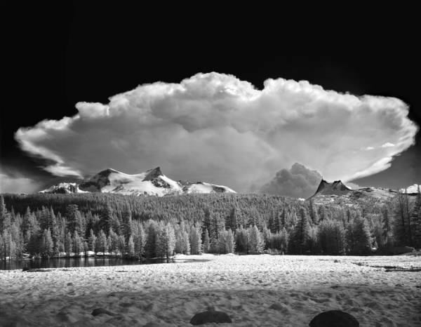Photograph - 606577 Thunderhead Over Tuolumne Meadows by Ed  Cooper Photography