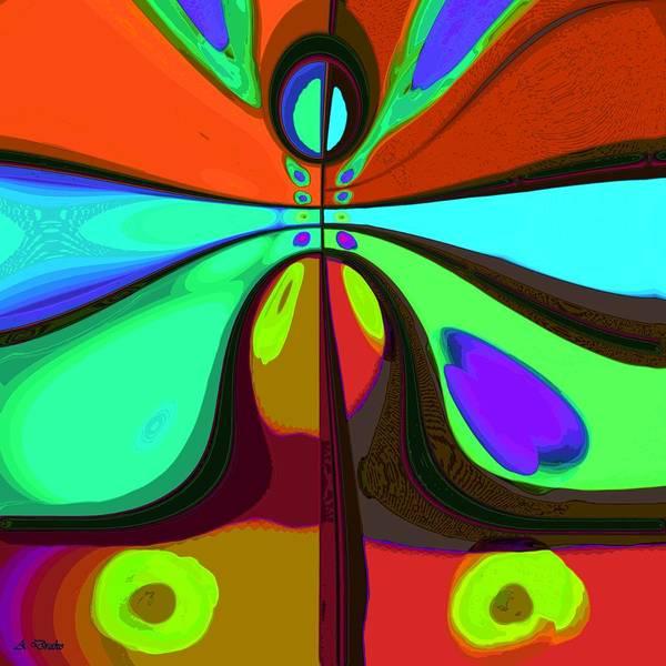 Digital Art - 60s Free Love by Alec Drake