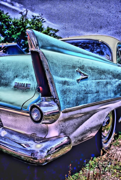 Rockdale County Photograph - 60s Plymouth by Corky Willis Atlanta Photography