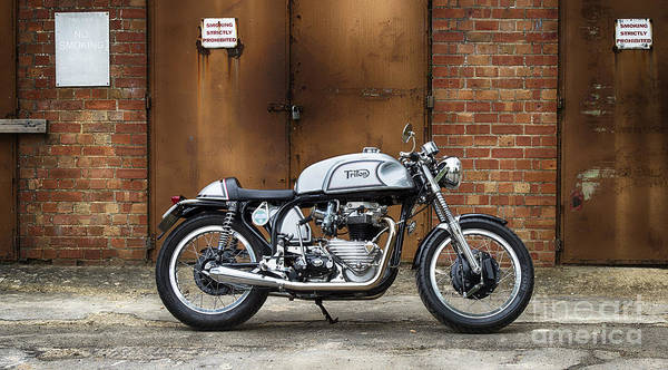 Photograph - 60s Triton Cafe Racer by Tim Gainey
