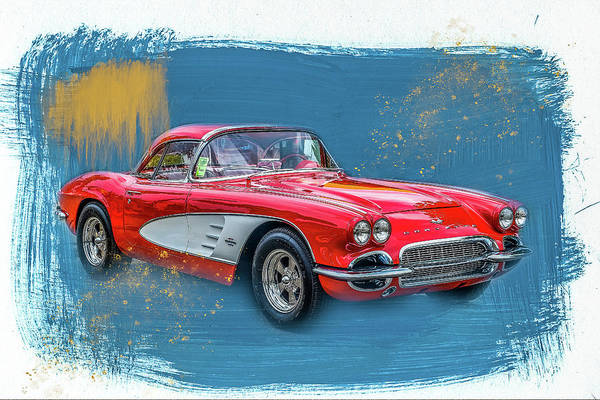 Wall Art - Photograph - 61 Corvette by Paul Freidlund