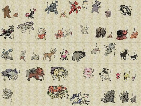 Pokemon Wall Art - Digital Art - 6168 Pokemon Hd S Pokemon Art by Mery Moon