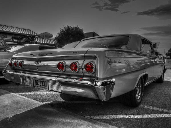 Photograph - '62 Impala Ss 001 by Lance Vaughn